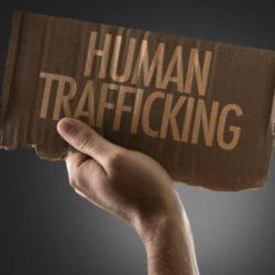 Human Traffick sign
