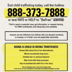 end prevent child trafficking talk to kids